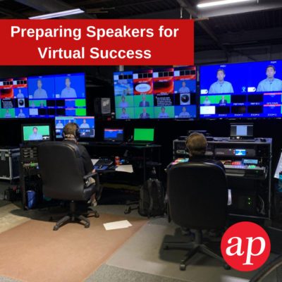 Preparing Speakers for Virtual Success